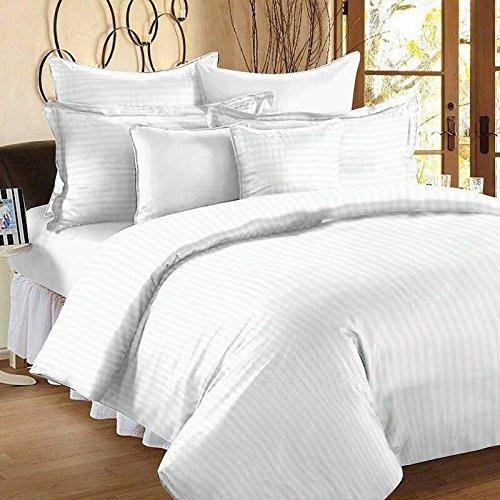 Luxury Bedsheet Set 100 Cotton 60s 300tc White